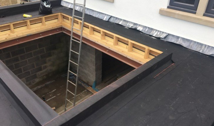 Flat roof repairs and replacement
